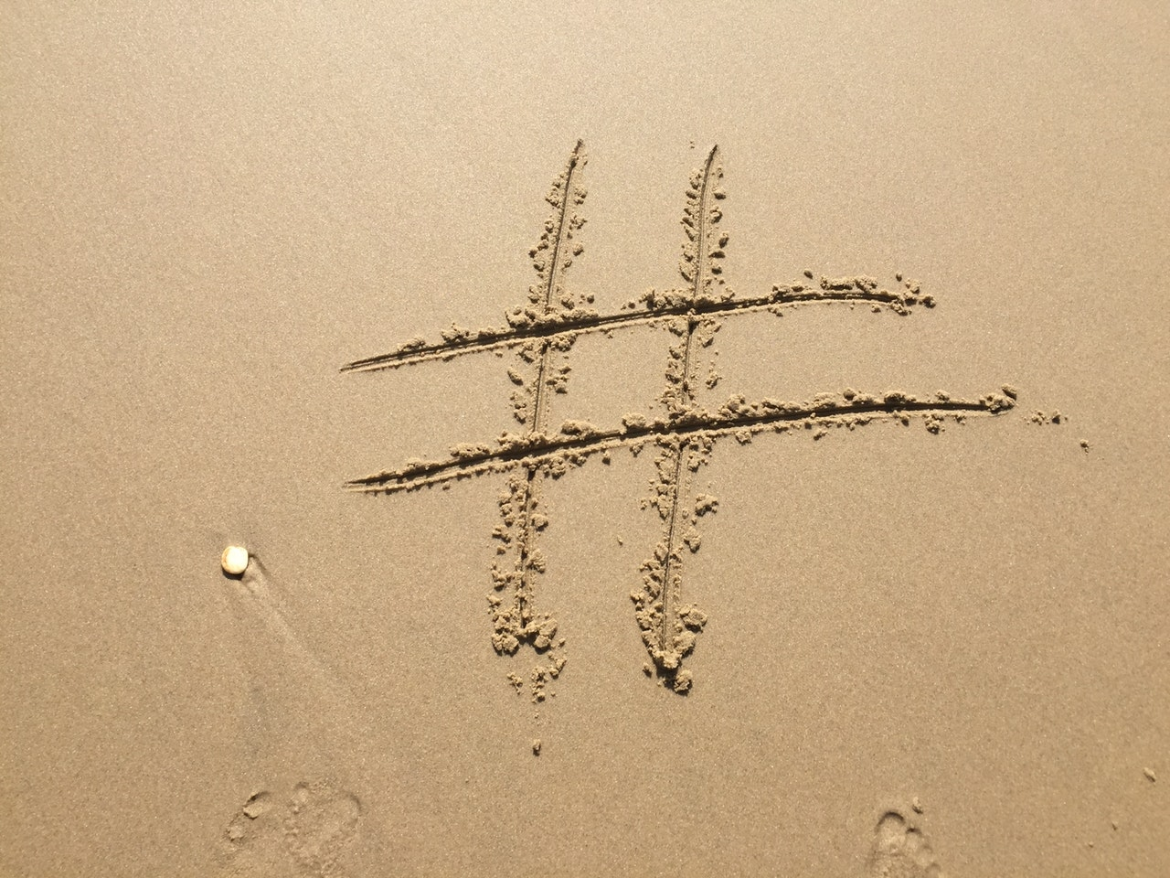 Photo of hashtag from pixels-photo-270271